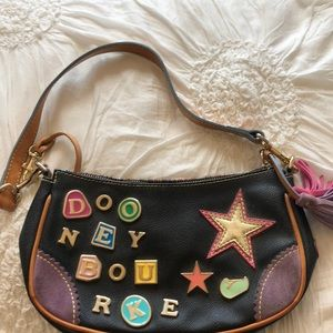 VINTAGE Dooney Burke shoulder bag